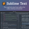 Sublime Text - Text Editing, Done Right