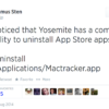 Uninstalling App Store apps from the command line | Der Flounder