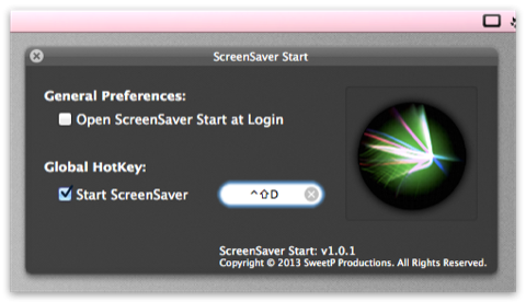 ScreenSaver_Start