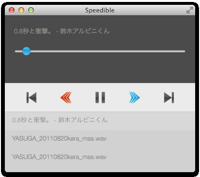 Speedible