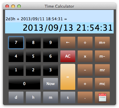Time_Calculator