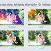 写真に光源を追加したり170以上ものエフェクトをかけられる『PicLight』