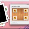 写真を少し崩して重ねたようなスライドショーをデスクトップの四隅のいずれかに表示『SlideTop』