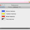 CPU負荷・メモリ使用率・ネットワークスループットをメニューバーの小さなアイコンで表示『SysInfo』