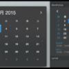 """""""カレンダー""""とイベントを同期できる月表示カレンダーを通知センターウィジェットに表示『MonthlyCal』"""