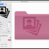 アイコンや画像を当てはめてオリジナルフォルダアイコンを作成『Folder Designer』