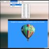 フローティングウィンドウで表示されるWebブラウザ『Helium』
